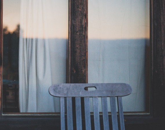 Sunset and a Chair